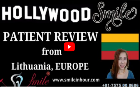 Europe Lithuania Patient reviews for My Hollywood Smile Makeover Experience at Smile in Hour