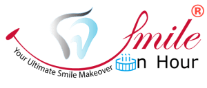 Smile In Hour® Ahmedabad Gujarat-based dental innovation and marketing company Logo Tr