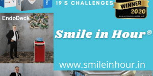 Best dental tech startups India first dentech startup smile in hour adapt to COVID-19's challenges