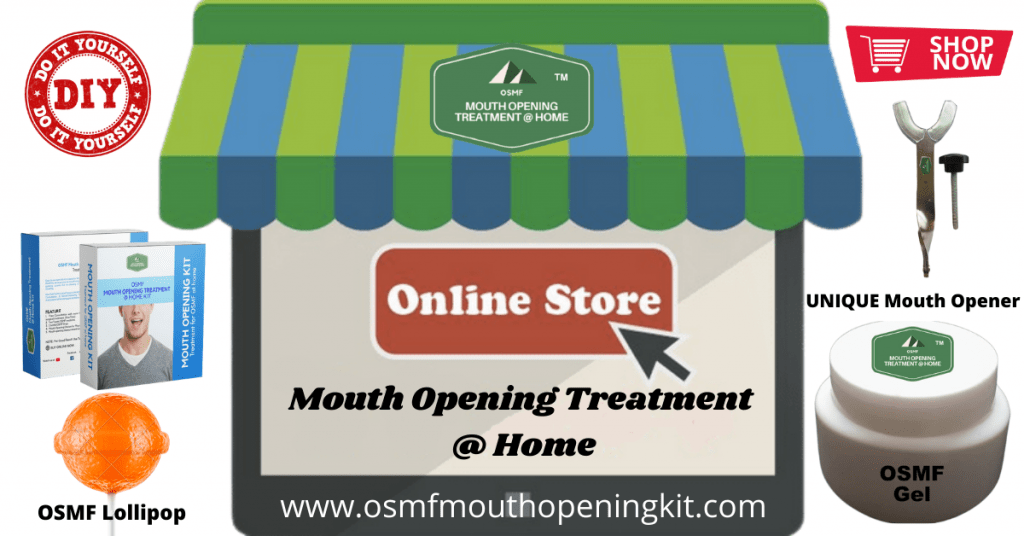 Shop OSMF Mouth Opening Treatment at home online Store