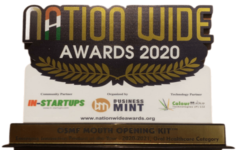 """Smile in Hour Dental Tech Startup """"Emerging Innovative Product of the Year 2020 in Oral Healthcare Category"""""""